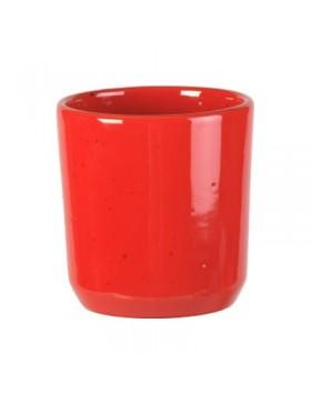 Bicchiere vino Gioia rosso cm.08